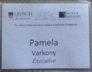 Lehigh name tag
